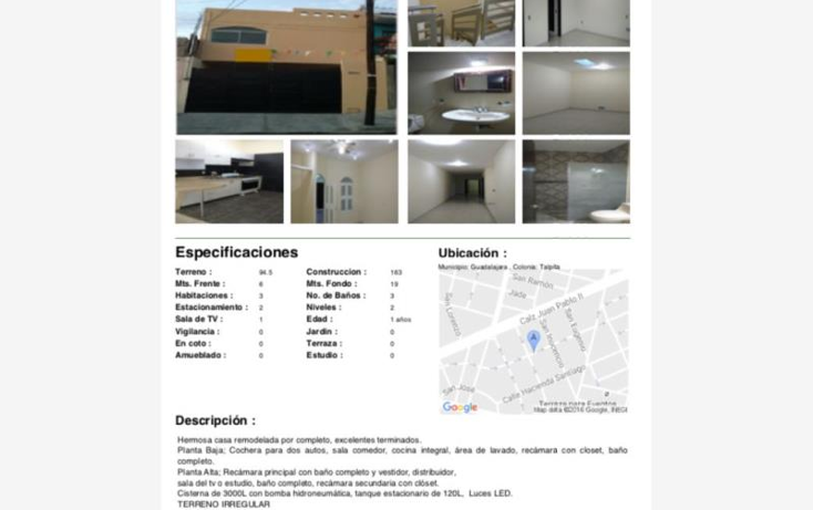 Foto de casa en venta en  1383, oblatos, guadalajara, jalisco, 2806638 No. 01