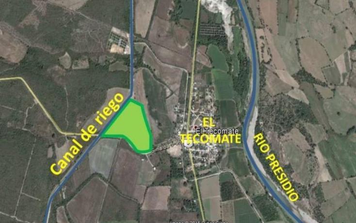 Foto de terreno habitacional en venta en  13z1p1/2, el tecomate de siqueros, mazatlán, sinaloa, 1472937 No. 02