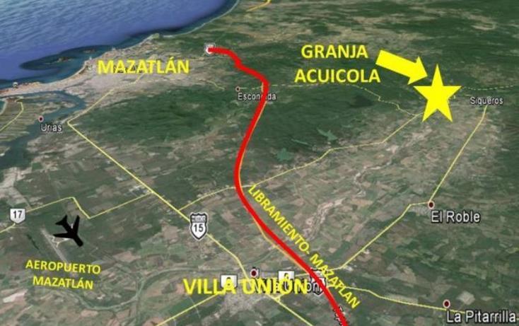 Foto de terreno habitacional en venta en  13z1p1/2, el tecomate de siqueros, mazatlán, sinaloa, 1472937 No. 03