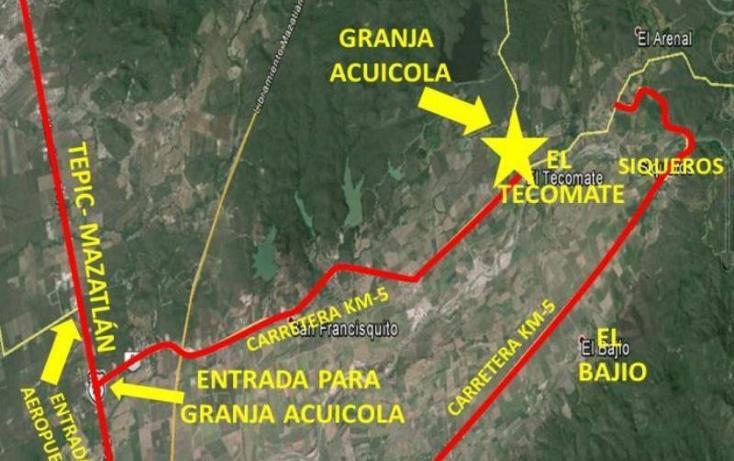 Foto de terreno habitacional en venta en  13z1p1/2, el tecomate de siqueros, mazatlán, sinaloa, 1472937 No. 04