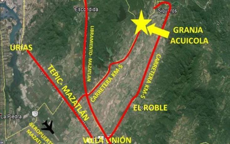 Foto de terreno habitacional en venta en  13z1p1/2, el tecomate de siqueros, mazatlán, sinaloa, 1472937 No. 05