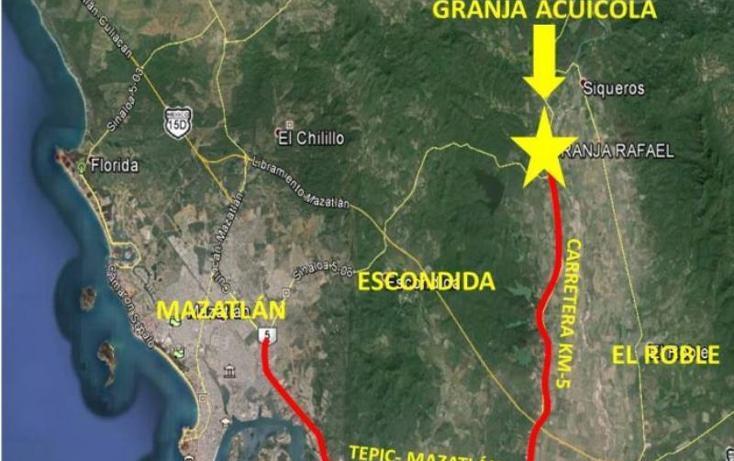Foto de terreno habitacional en venta en  13z1p1/2, el tecomate de siqueros, mazatlán, sinaloa, 1472937 No. 06