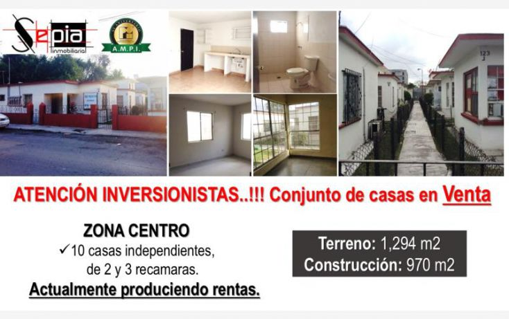Foto de casa en venta en 14 entre herrera y bustamante 121, matamoros centro, matamoros, tamaulipas, 1745423 no 01