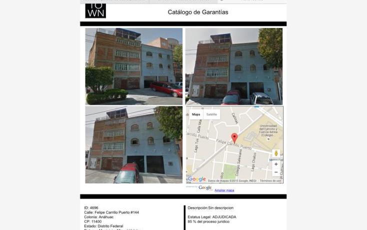 Foto de casa en venta en  144, anahuac i secci?n, miguel hidalgo, distrito federal, 1567504 No. 02