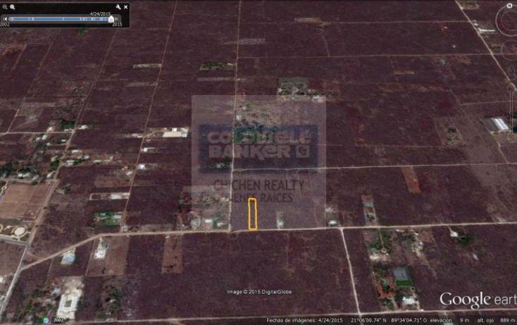 Foto de terreno habitacional en venta en 15, conkal, conkal, yucatán, 1754708 no 02
