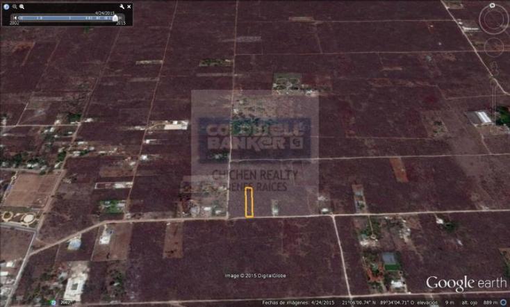 Foto de terreno habitacional en venta en  , conkal, conkal, yucatán, 1754708 No. 02