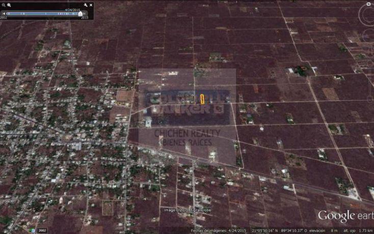 Foto de terreno habitacional en venta en 15, conkal, conkal, yucatán, 1754708 no 03