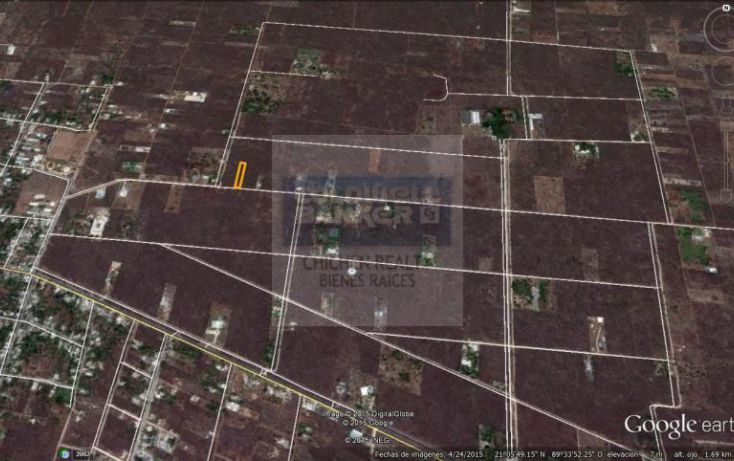 Foto de terreno habitacional en venta en 15, conkal, conkal, yucatán, 1754708 no 05