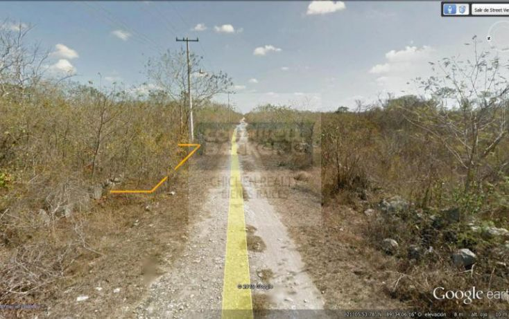 Foto de terreno habitacional en venta en 15, conkal, conkal, yucatán, 1754708 no 07