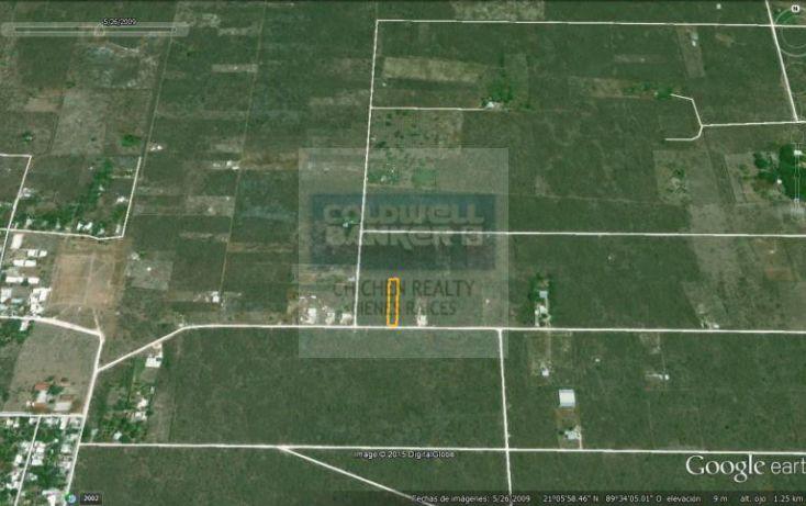 Foto de terreno habitacional en venta en 15, conkal, conkal, yucatán, 1754708 no 08