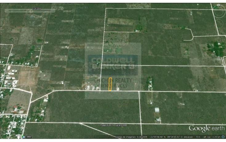 Foto de terreno habitacional en venta en  , conkal, conkal, yucatán, 1754708 No. 08