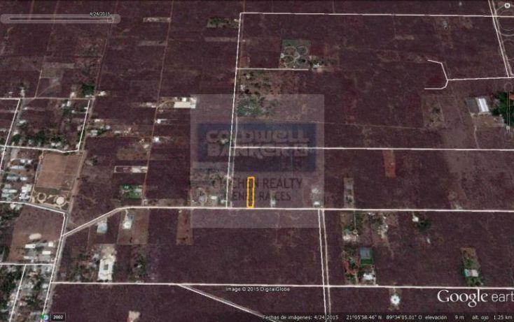 Foto de terreno habitacional en venta en 15, conkal, conkal, yucatán, 1754708 no 09