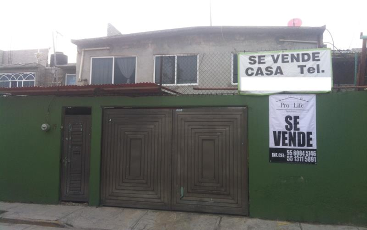 Foto de casa en venta en  15, guadalupe victoria, ecatepec de morelos, m?xico, 1996820 No. 01