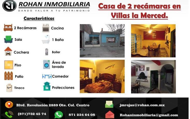 Foto de casa en venta en  1555, villas la merced, torreón, coahuila de zaragoza, 776245 No. 02