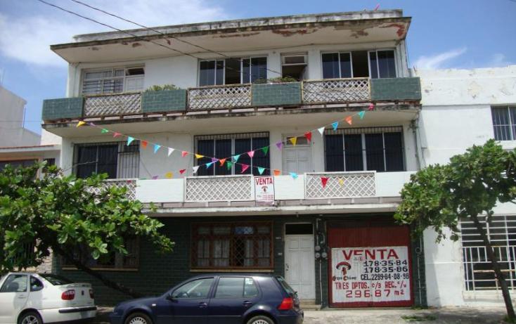 Foto de edificio en venta en 16 de septiembre 1605, ricardo flores magón, veracruz, veracruz, 860009 no 01