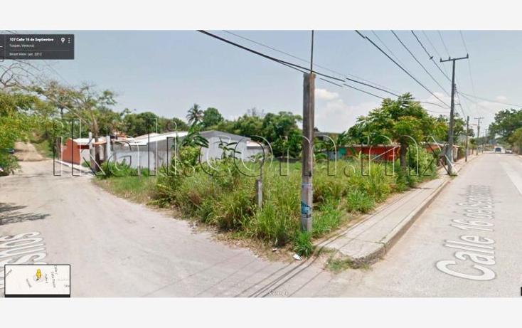 Foto de terreno habitacional en renta en 16 de septiembre , anáhuac, tuxpan, veracruz de ignacio de la llave, 1060989 No. 03