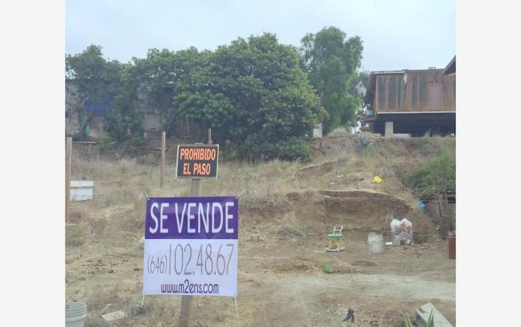 Foto de terreno habitacional en venta en cuerto de venado sur 165, la mina, playas de rosarito, baja california, 622142 No. 01