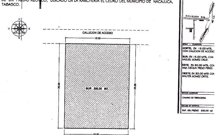 Foto de terreno comercial en venta en, 17 de julio, nacajuca, tabasco, 1252661 no 01