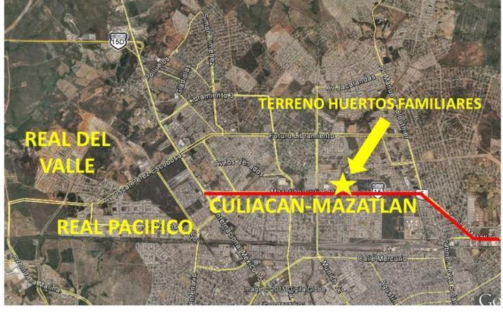 Foto de terreno habitacional en venta en  17, huertos familiares, mazatlán, sinaloa, 1573356 No. 02