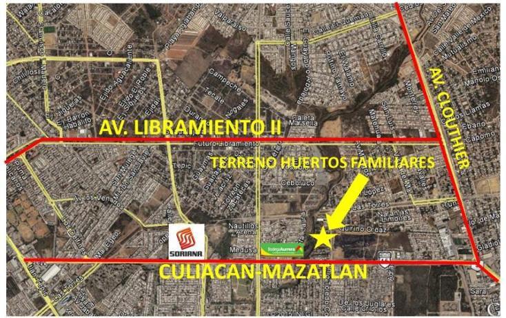 Foto de terreno habitacional en venta en antonio toledo corro 17, huertos familiares, mazatlán, sinaloa, 1573356 No. 03