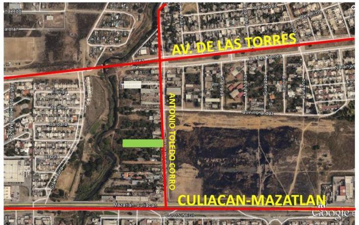 Foto de terreno habitacional en venta en antonio toledo corro 17, huertos familiares, mazatlán, sinaloa, 1573356 No. 04