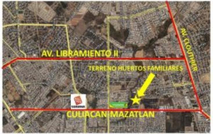 Foto de terreno habitacional en venta en antonio toledo corro 17, huertos familiares, mazatlán, sinaloa, 990921 No. 01