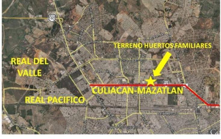 Foto de terreno habitacional en venta en  17, huertos familiares, mazatlán, sinaloa, 990921 No. 02