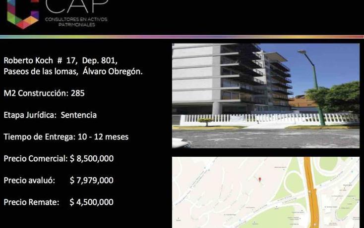 Foto de departamento en venta en  17, lomas de santa fe, álvaro obregón, distrito federal, 2704761 No. 02