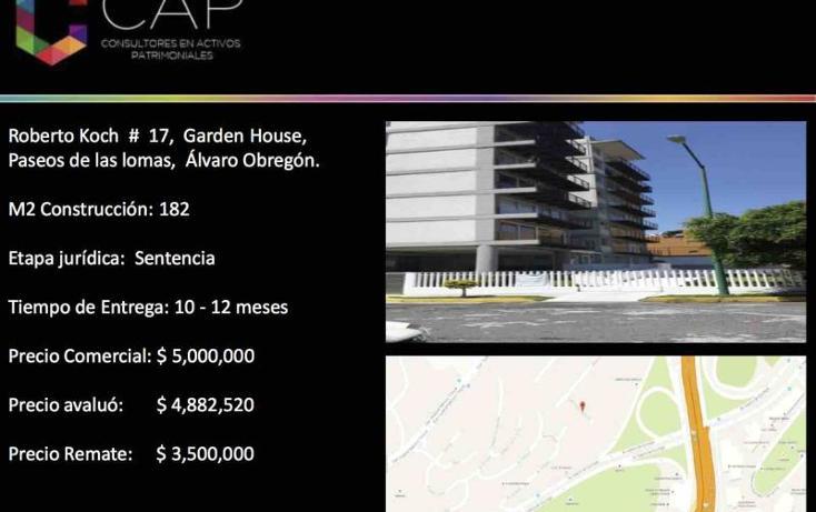 Foto de departamento en venta en  17, lomas de santa fe, álvaro obregón, distrito federal, 2704761 No. 04