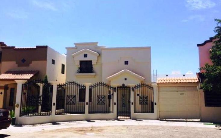 Foto de casa en venta en  17, montecarlo, hermosillo, sonora, 2010888 No. 01