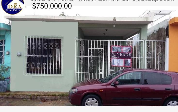 Foto de casa en venta en  17, ocuiltzapotlan, centro, tabasco, 1585736 No. 01