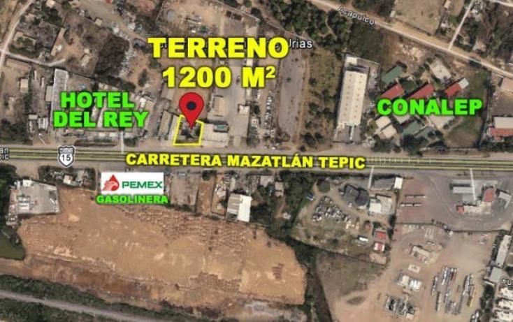 Foto de terreno comercial en venta en  17, urias, mazatlán, sinaloa, 1571808 No. 02
