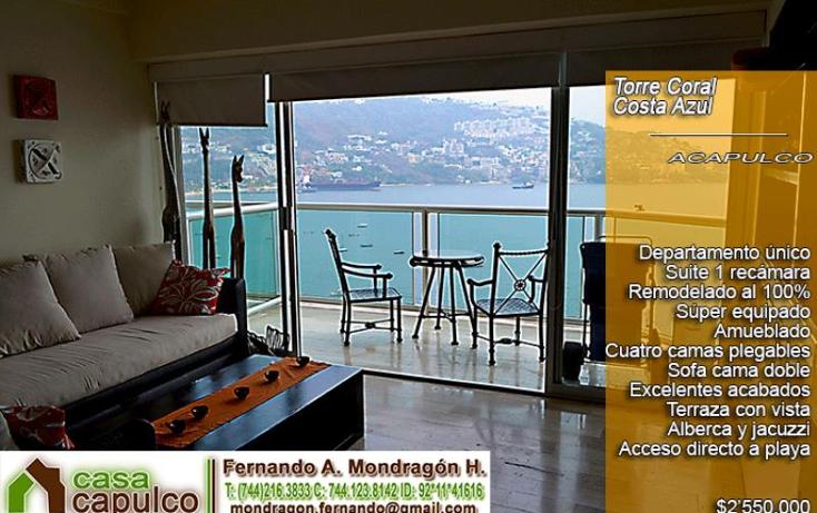 Foto de departamento en venta en  175, costa azul, acapulco de juárez, guerrero, 983979 No. 01