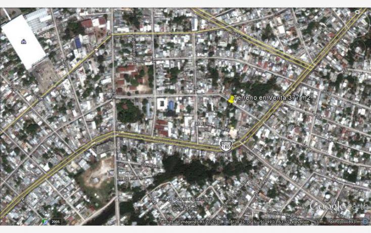 Foto de terreno habitacional en venta en 17a 244, benito juárez, carmen, campeche, 1612060 no 08