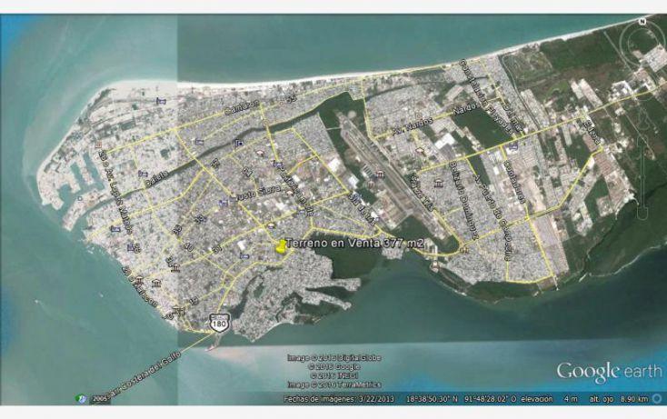 Foto de terreno habitacional en venta en 17a 244, benito juárez, carmen, campeche, 1612060 no 10