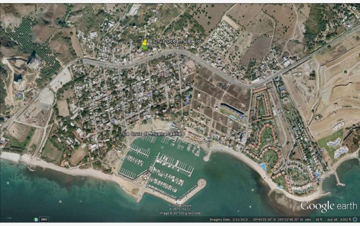 Foto de terreno habitacional en venta en  18, cruz de huanacaxtle, bah?a de banderas, nayarit, 1336213 No. 01
