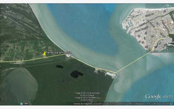 Foto de terreno comercial en venta en  180, puerto rico, carmen, campeche, 1691664 No. 02