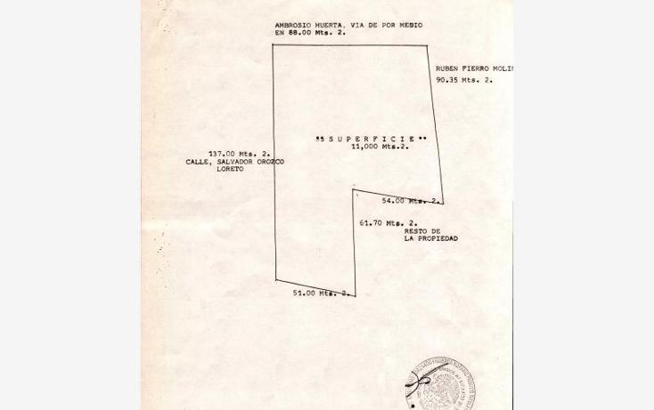 Foto de terreno comercial en venta en salvador orozco loreto 1807, las liebres, san pedro tlaquepaque, jalisco, 2659676 No. 03