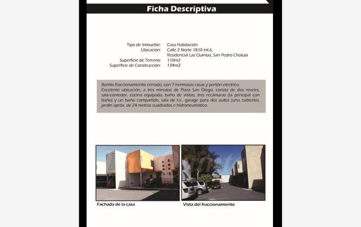 Foto de casa en venta en  1810, rivadavia, san pedro cholula, puebla, 1648868 No. 14