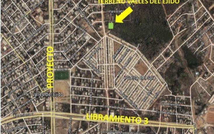 Foto de terreno habitacional en venta en andador m 186, ampliación valle del ejido, mazatlán, sinaloa, 2667193 No. 03