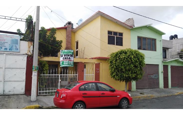 Foto de casa en venta en  , 19 de septiembre, ecatepec de morelos, m?xico, 1769728 No. 01