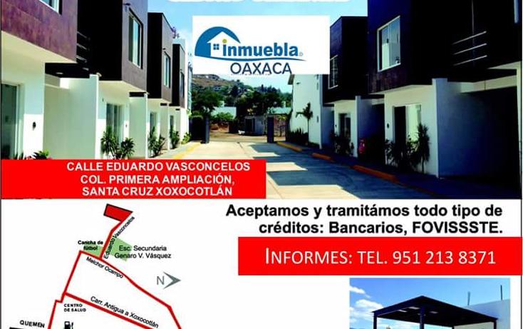 Foto de casa en venta en  , 1a ampliaci?n de xoxo, santa cruz xoxocotl?n, oaxaca, 1060675 No. 01