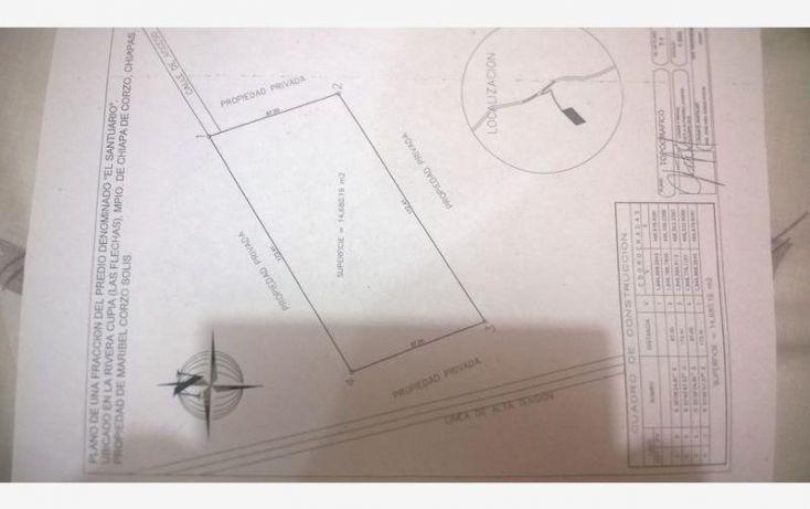 Foto de terreno comercial en venta en 1a seccion de la ribera de cupia las flechas, las flechas, chiapa de corzo, chiapas, 1729536 no 07