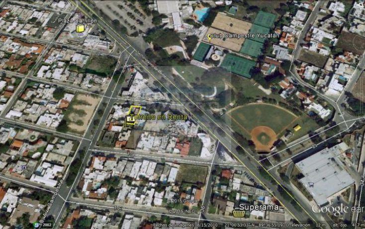 Foto de terreno habitacional en renta en 1c, campestre, mérida, yucatán, 1754796 no 01