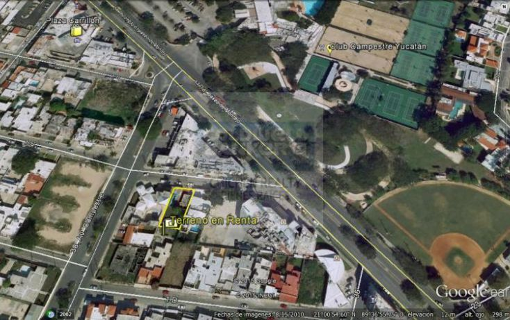 Foto de terreno habitacional en renta en 1c, campestre, mérida, yucatán, 1754796 no 02