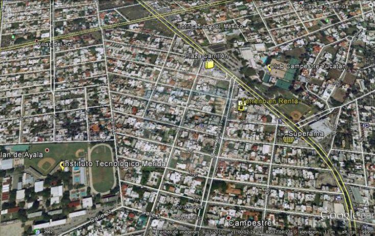 Foto de terreno habitacional en renta en 1c, campestre, mérida, yucatán, 1754796 no 06