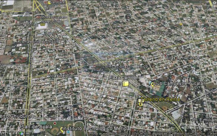 Foto de terreno habitacional en renta en 1c, campestre, mérida, yucatán, 1754796 no 07