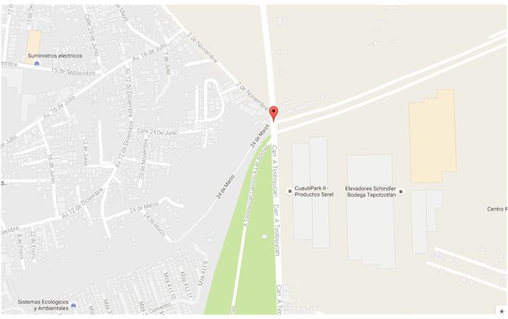 Foto de terreno habitacional en renta en 2 de noviembre s/n , las animas, tepotzotlán, méxico, 1773252 No. 10