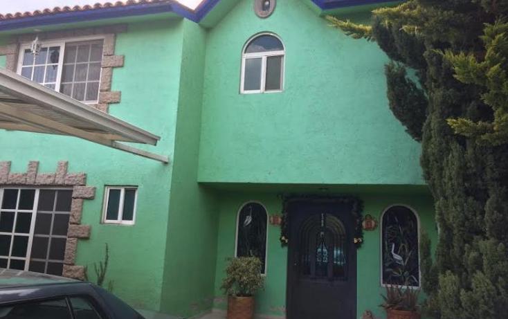Foto de casa en venta en  2, l?zaro c?rdenas, metepec, m?xico, 1826248 No. 01