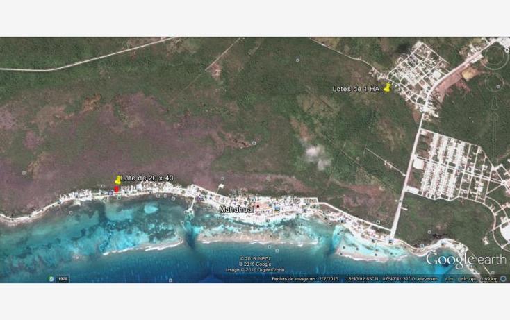 Foto de terreno comercial en venta en  2, mahahual, othón p. blanco, quintana roo, 1954426 No. 11